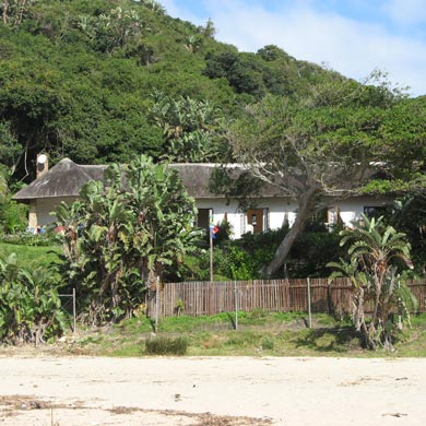 Accommodation on the beach in Port St Johns